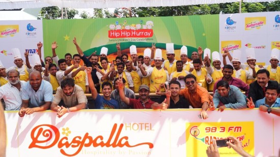 Guinness World Record Longest Dosa Hotel Daspalla Hyderabad 2