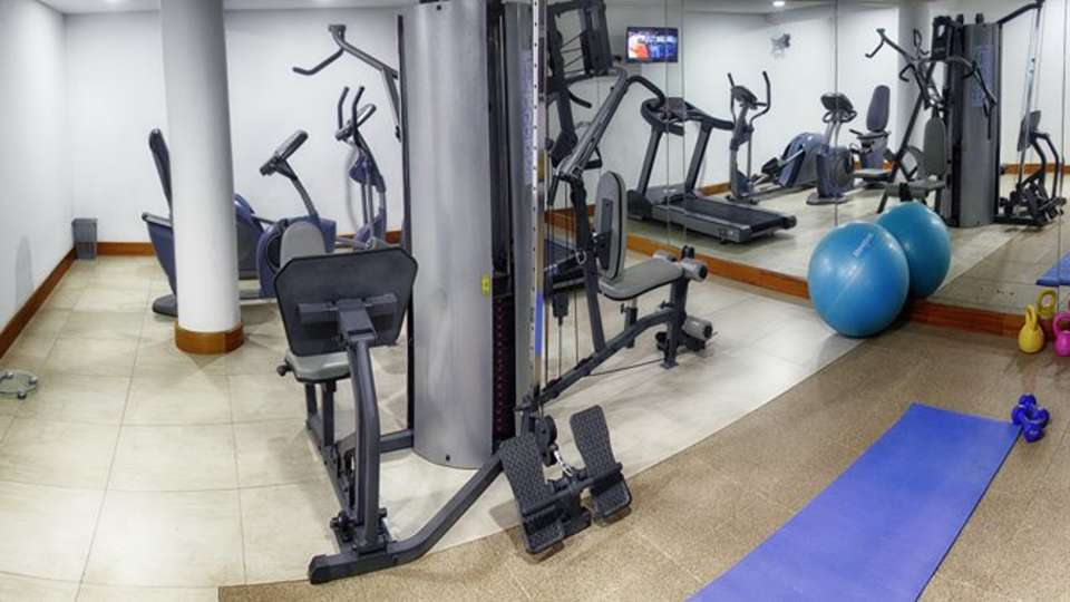 Fitness center at Restaurant at The Zehneria Portico Nairobi Nairobi Hotels