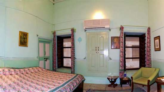 The Piramal Haveli - 20th C, Shekhavati Shekhavati Green The Piramal Haveli Hotel in Shekhavati Rajasthan
