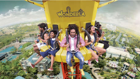 Wonderla Amusement Parks & Resort  Flash Tower