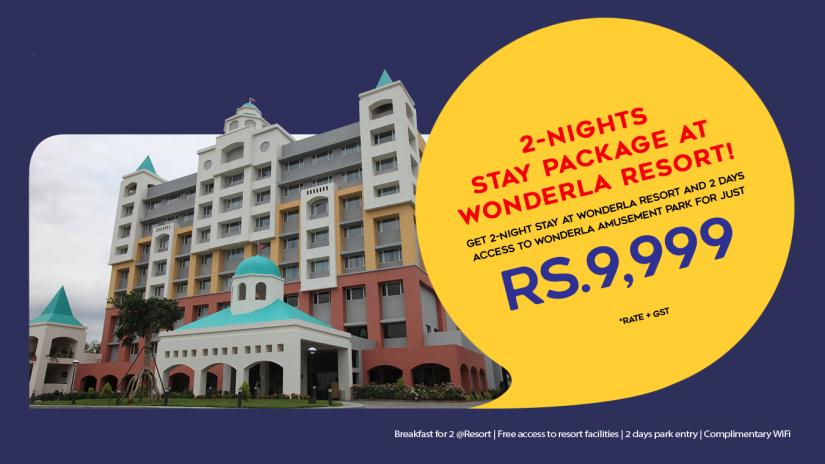WEBSITE-BANNER RESORT Wonderla Resort Bangalore