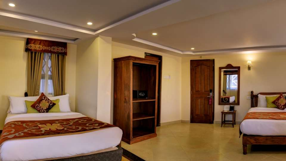 Family Suite at Summit Hermon Hotel Spa Darjeeling 3