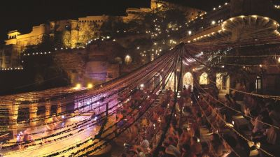 Weddings in Rajasthan Hotel Neemrana Fort Palace events near Delhi 1 1