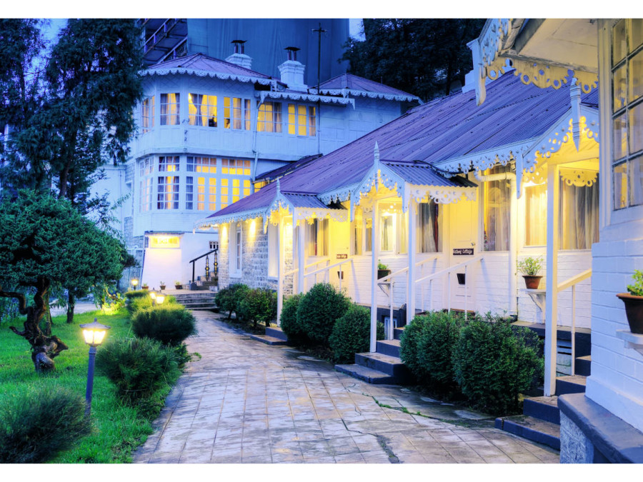 alt-text Facade at Summit Swiss Heritage Hotel Darjeeling 15 pp4ygj