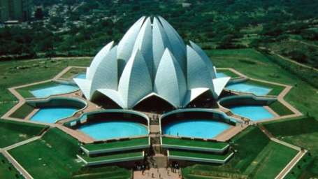 Location lotus temple