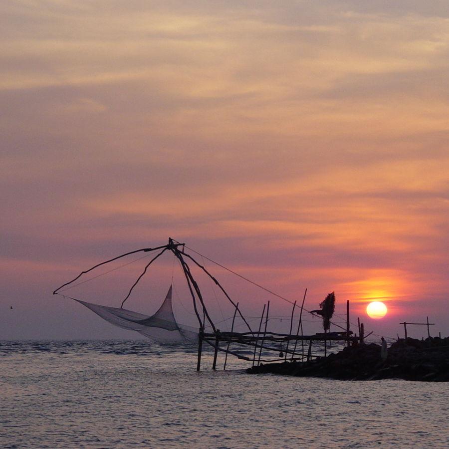 alt-text Munambam Beach, Sapphire Club Cherai Beach Villa, Places To See In Cherai