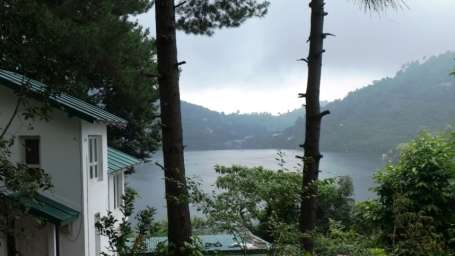 The Bungalows Lake Side Naukuchiatal Lake view from the Bungalows naukuchiatal