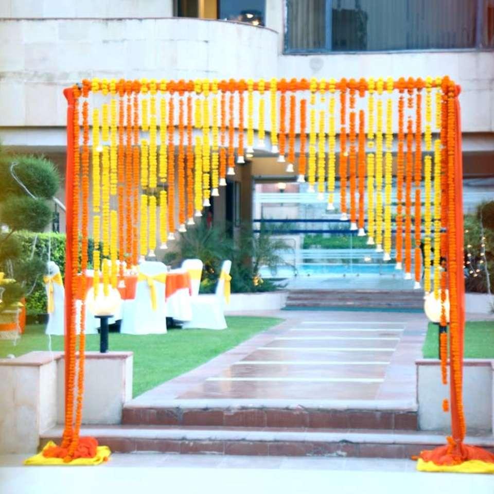 Pool Side, The Bristol Hotel Gurgaon, Banquet Hall In Gurgaon 5078