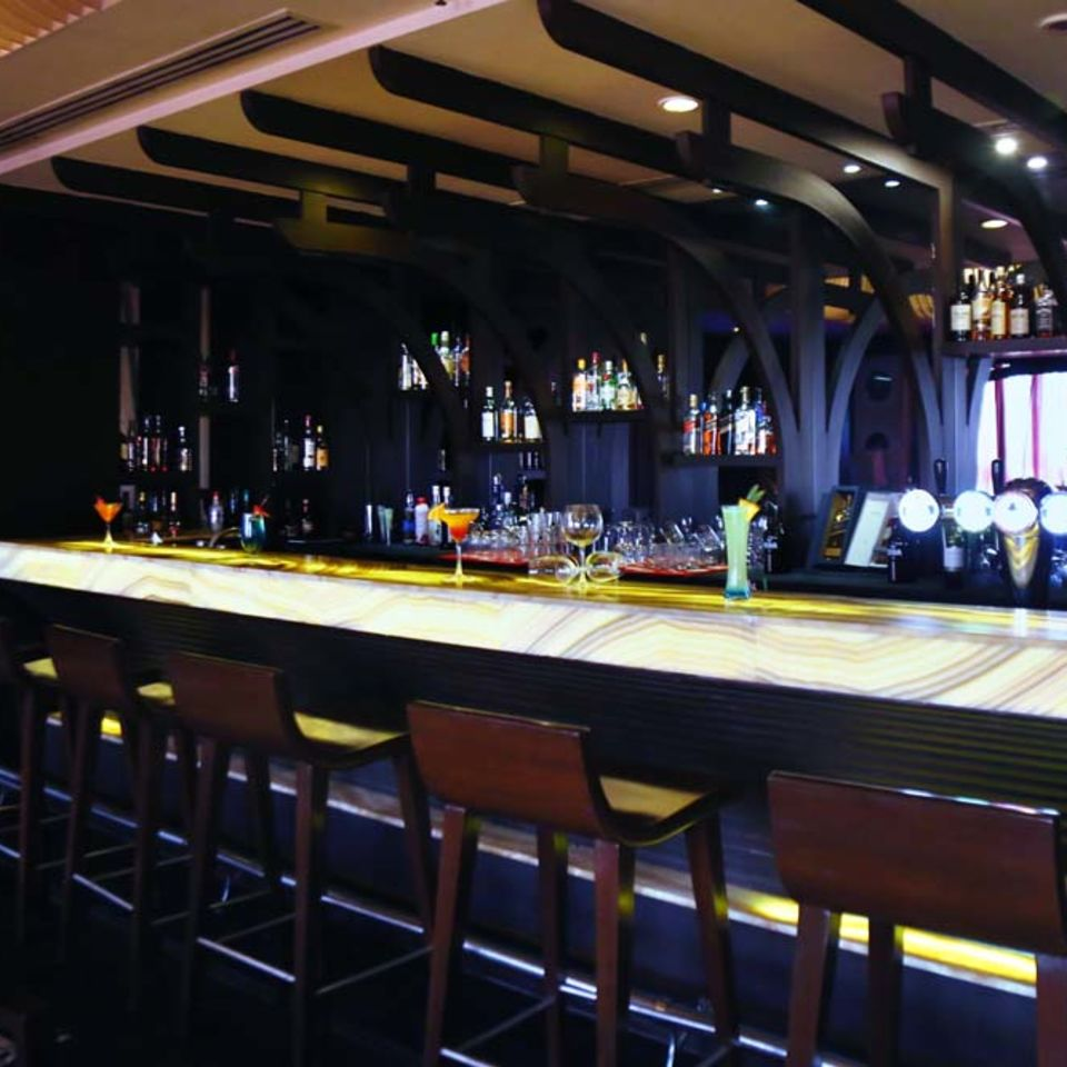 Shanghai Bar & Lounge, The Bristol Hotel Gurgaon, Evening In Gurgaon 3348
