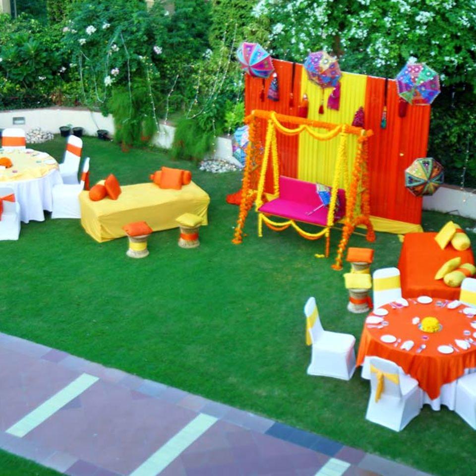 Pool Side, The Bristol Hotel Gurgaon, Banquet Hall In Gurgaon 5040