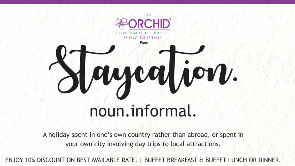 Staycation, Orchid Hotel Pune, Hotel Offers In Pune