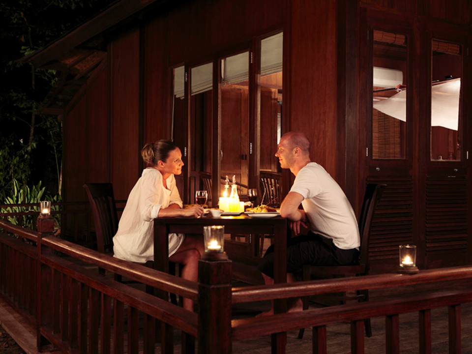 27 Experiences Romantic Dinner outside AC Andaman Villa