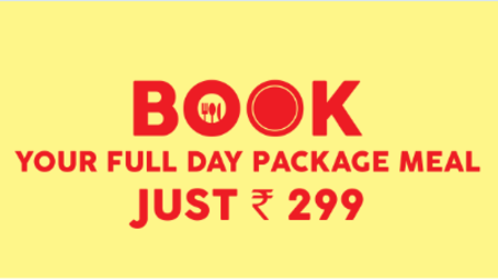 Wonderla Amusement Parks & Resort  full day meal package