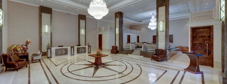 Reception Ramada Resort Kumbhalgarh Resort in Kumbhalgarh