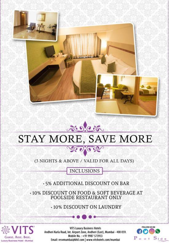 Stay More Save More - VITS Mumbai