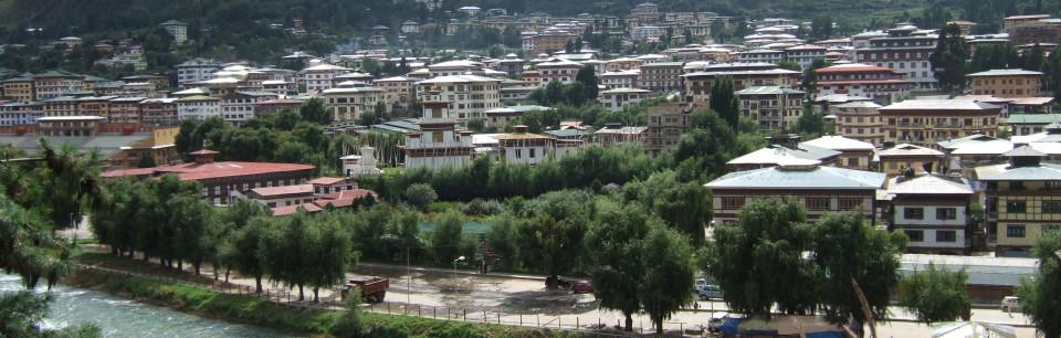 Thimphu view Bhutan Summit Hotels
