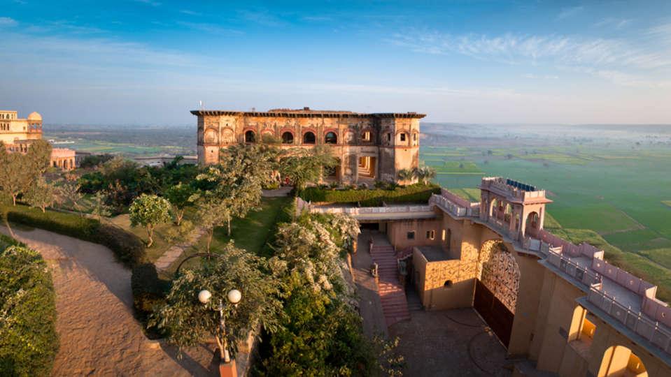 Tijara Fort Palace - Alwar Alwar Exterior Facilities Hotel Tijara Fort Palace Alwar Rajasthan 9