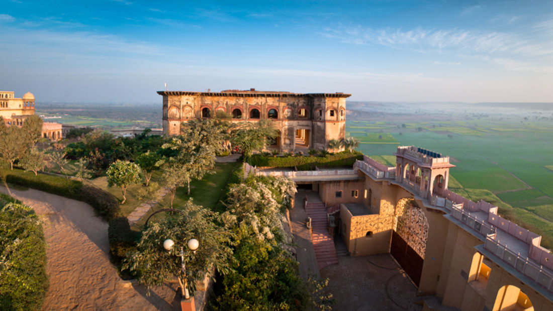Exterior Hotel_Tijara Fort Palace_Heritage Hotel In Rajasthan 9