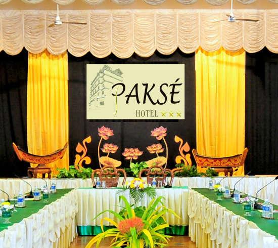Pakse Hotel & Restaurant, Champasak Pakse Meeting Room Pakse Hotel Restaurant Champasak 2