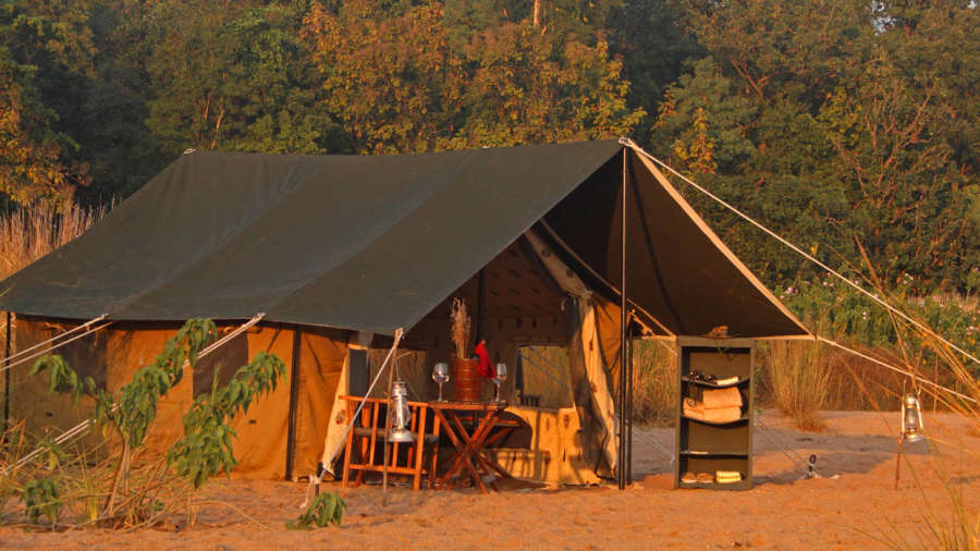Satpura Under Canvas at Reni Pani Jungle Lodge satpura- near satpura national park