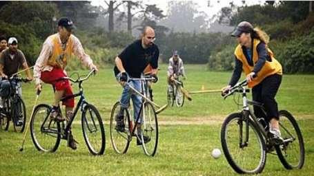 Cycle Polo at Umaid Lake Palace Hotel Kalakho Dausa Rajasthan