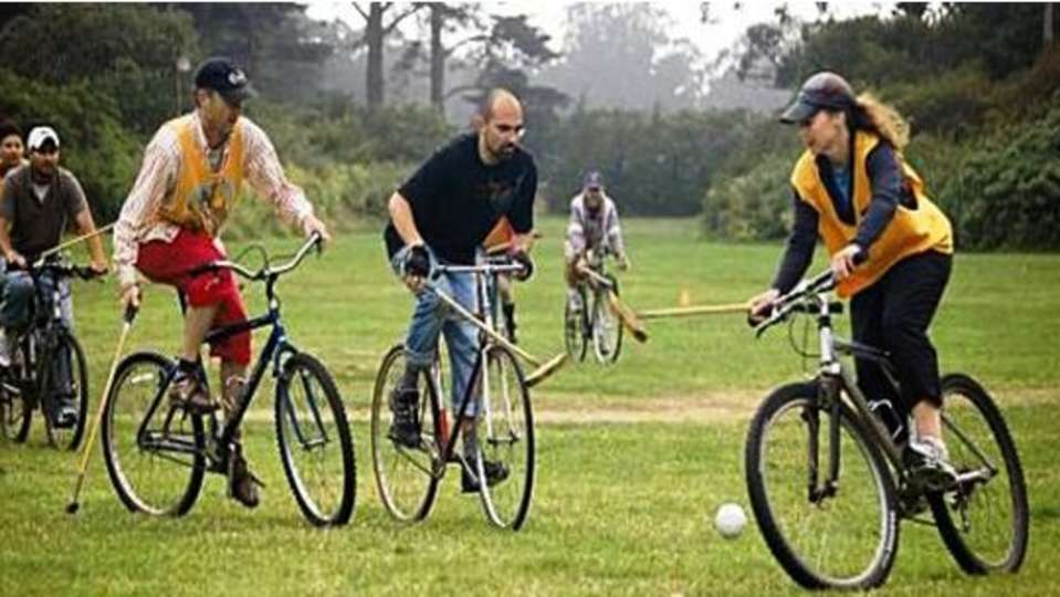 Cycle Polo at Umaid Lake Palace Hotel Kalakho Dausa Rajasthan