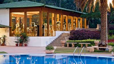 Swimming Pool at Clarks Amer Jaipur - 5 Star Hotel Near Jaipur Airport