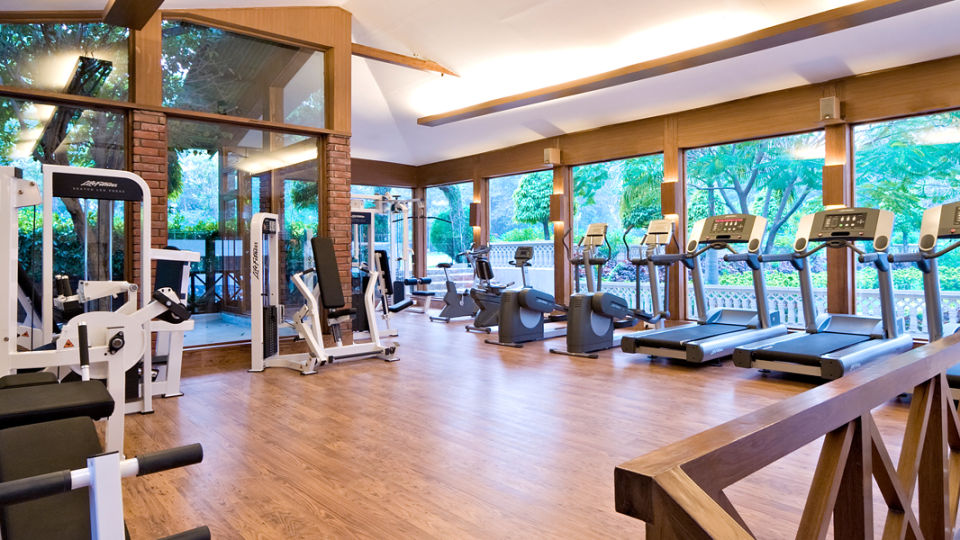 Gym and fitness centre at Hotel Clars Amer Jaipur - Business Hotel in Jaipur