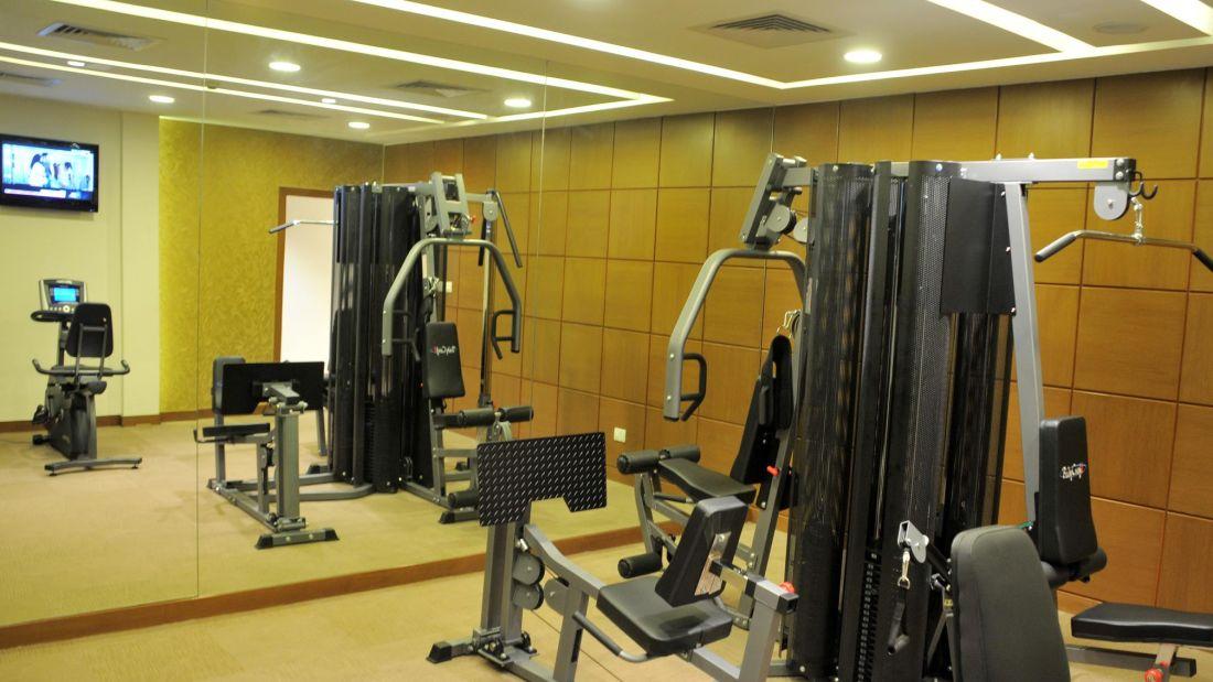 Hotel Adarsh Hamilton - Richmond Town, Bangalore Bangalore Hotel Adarsh Hamilton in Richmond Town Bangalore Luxury Hotel GYM 1