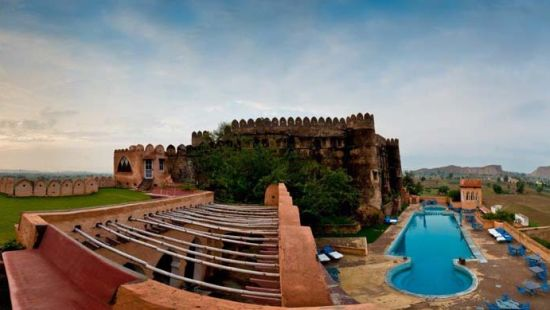 Hill Fort Kesroli Kesroli Facade Hotel Hill Fort Kesroli Alwar Rajasthan 2