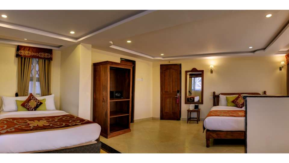 Family Rooms in Darjeeling at Summit Hermon Hotel in Darjeeling