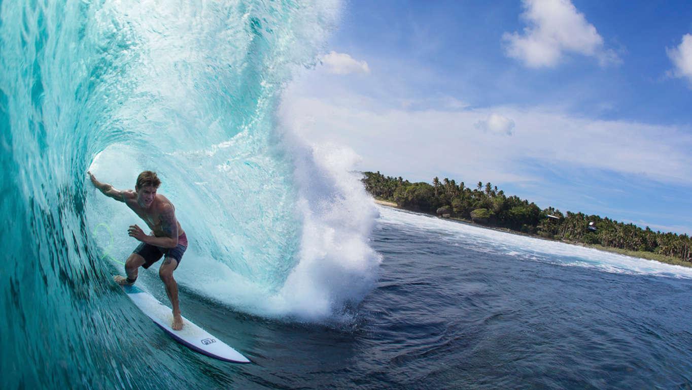 bravo beach resort siargao surf camp surfing in cloud 9