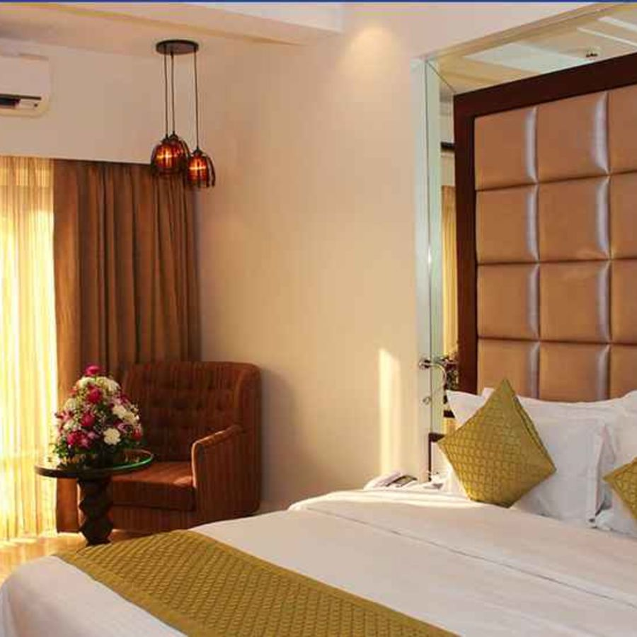 alt-text Premium Rooms 3 at Amara Vacanza Grand Inn,  Rooms in Calangute, Goa Resort