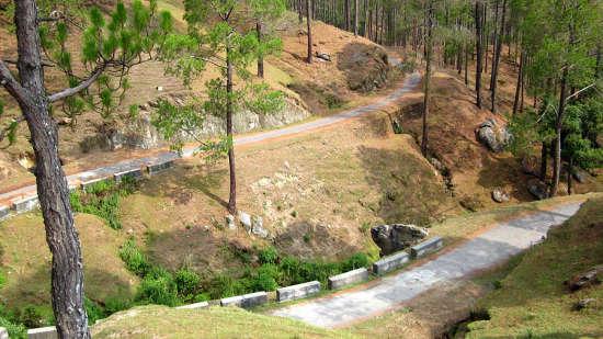 The Bungalows Lake Side, Naukuchiatal Naukuchiatal 1280px-Sarna Garden road  Ranikhet