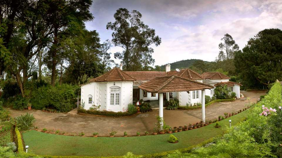 Wallwood Garden - 19th C, Coonoor  Front Facade Wallwood Garden Coonooor Tamil Nadu