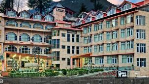 The Manali Inn Hotel Building