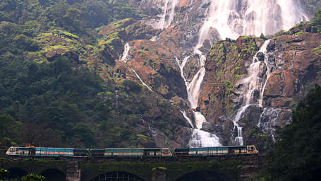 Dudhsagar Falls, Tourist Attractions near Goa, Resort in Benaulim
