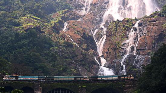 Dudhsagar Falls, Tourist Attractions near Goa, Resort in Benaulim