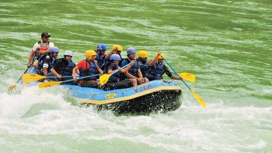 The Bungalow River Front, Rishikesh Rishikesh Rafting in Bungalow River Front Rishikesh The Bungalows