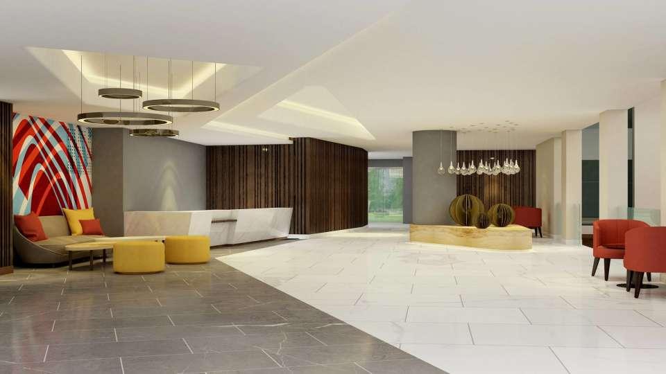 Lobby, Hotel in Noida, The Hideaway