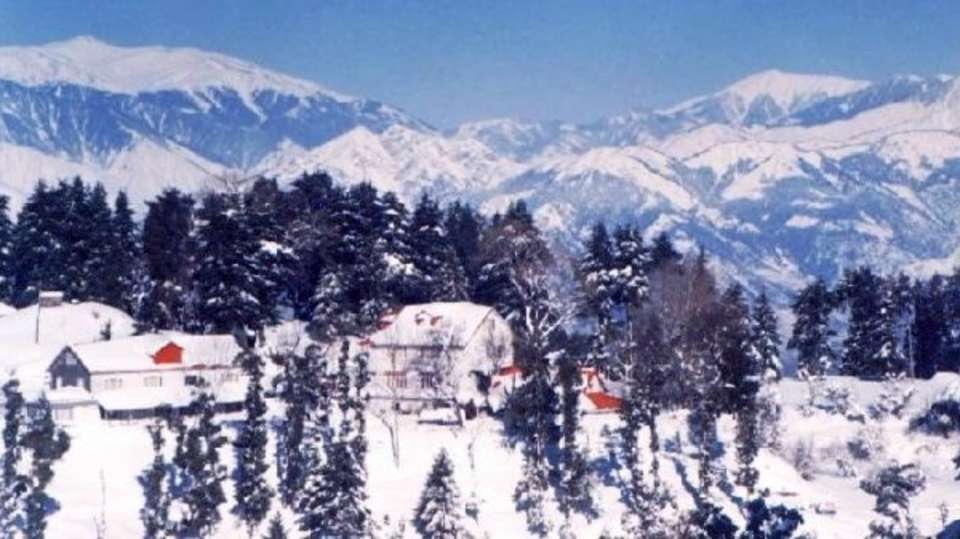 Resort in snow alps resort dalhousie 2