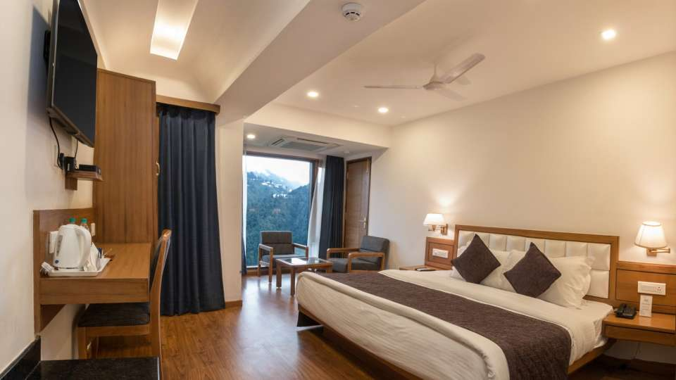 Rooms In Mussoorie Hotels 4, Hotel Pacific Mussoorie, Room for stay in Mussoorie