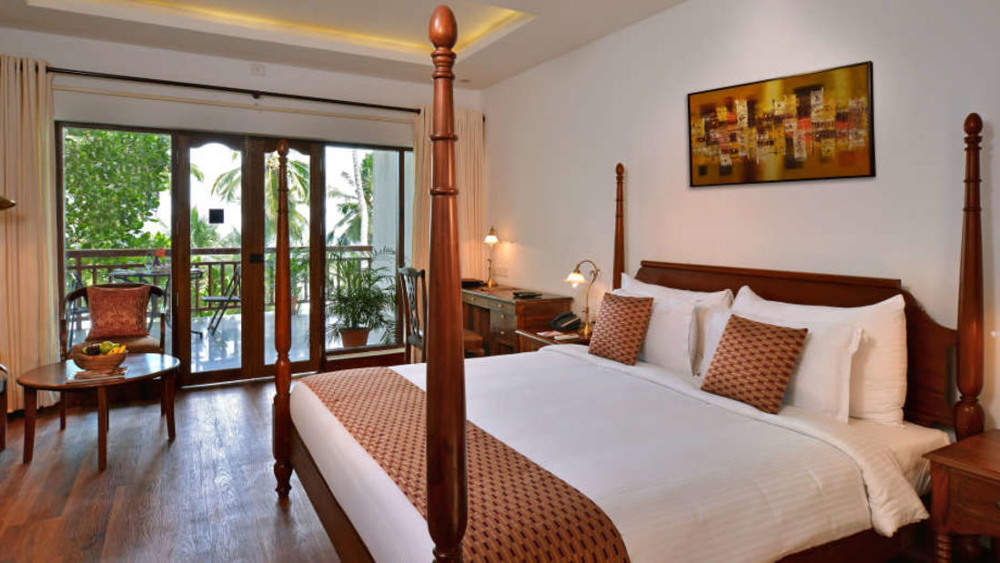 Beach facing rooms in Kovalam, Luxurious rooms in Kovalam, Kovalam Turtle, Getaway Beach Resort Kovalam