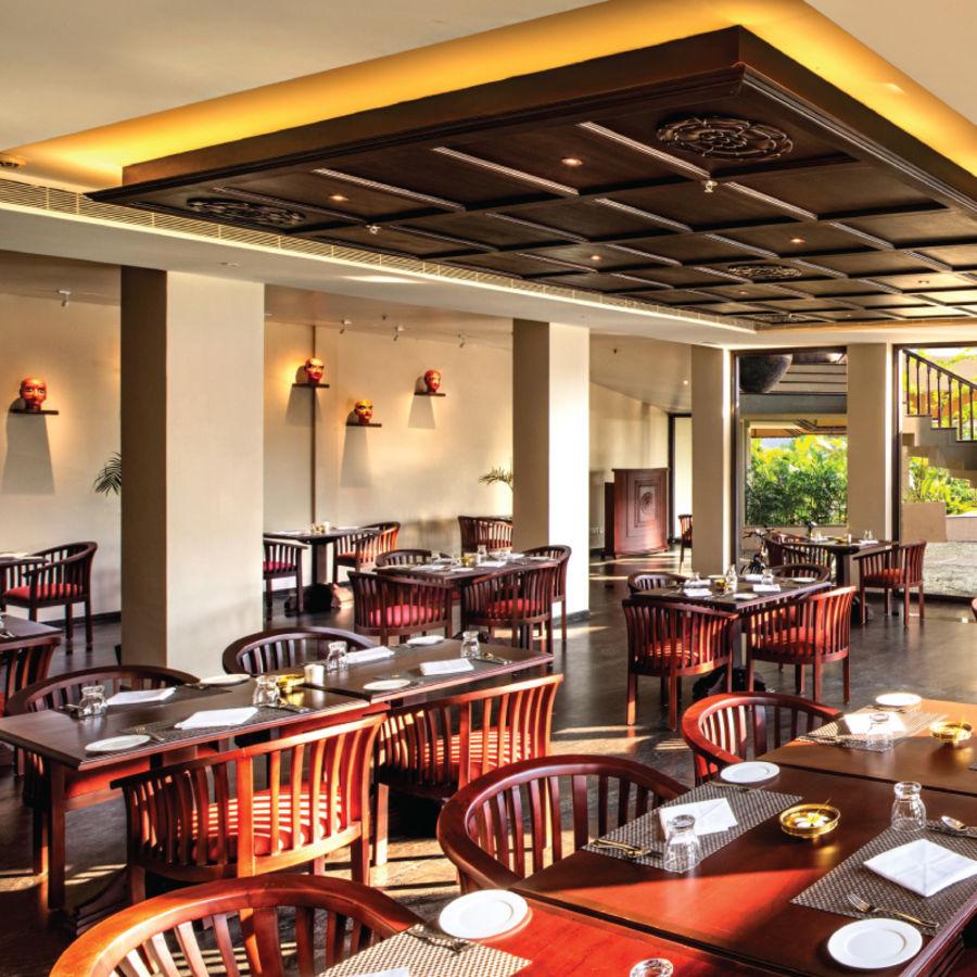 alt-text Cafe Samsara, Niraamaya Retreat Backwater and Beyond, Restaurants in Kumarakom 1