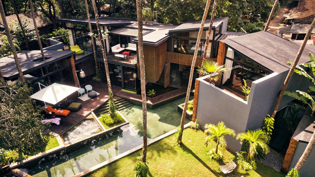 Villa in Palms by Vescapes, Luxury Getaways in North Goa 12
