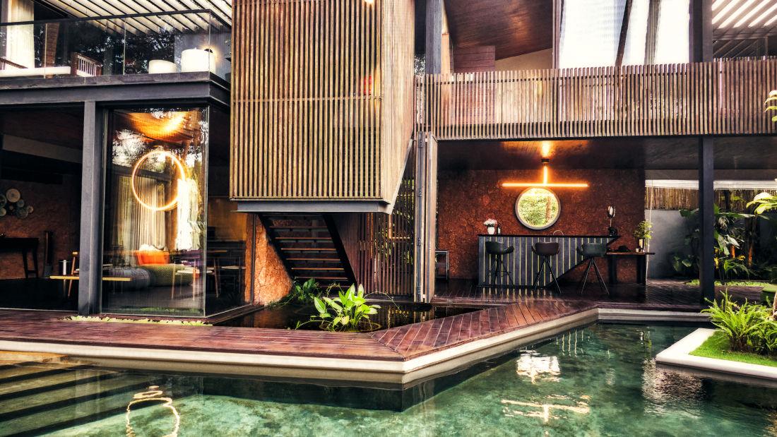 Villa in Palms by Vescapes, Luxury Getaways in North Goa 17