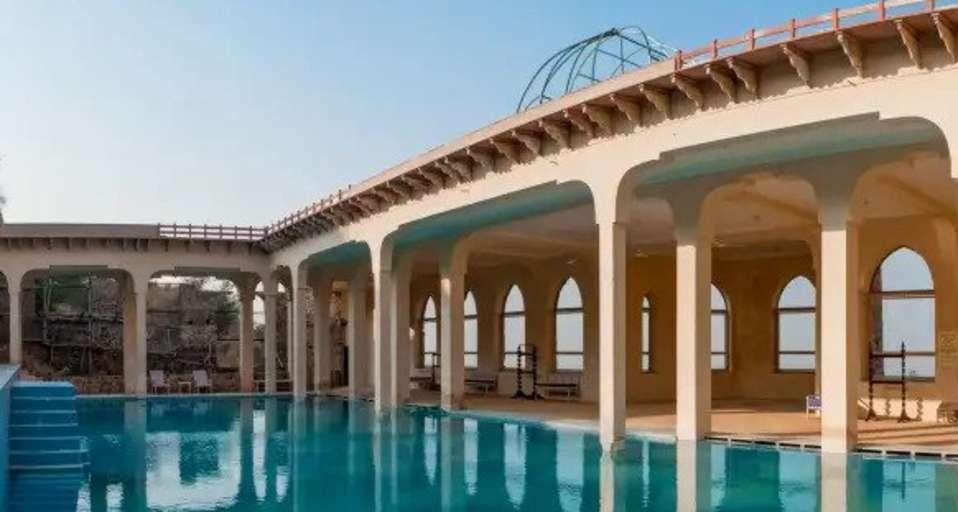 Tijara Fort palace swimming pool