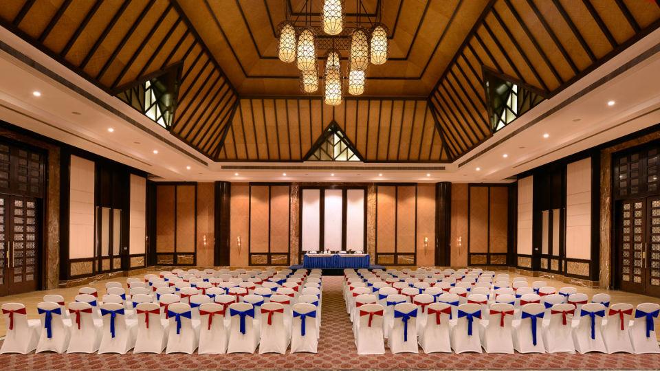 Interior of Udaipur wedding venues in Ananta Udaipur