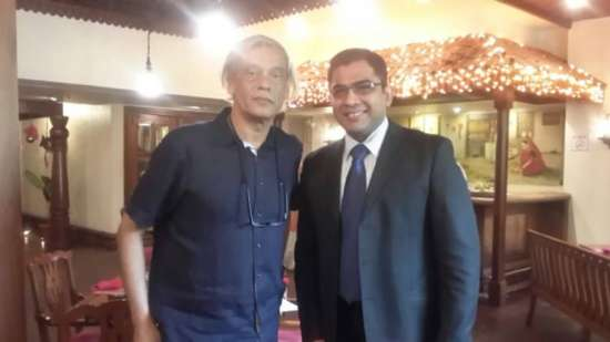 Sudhir Mishra at The Orchid Hotel Mumbai