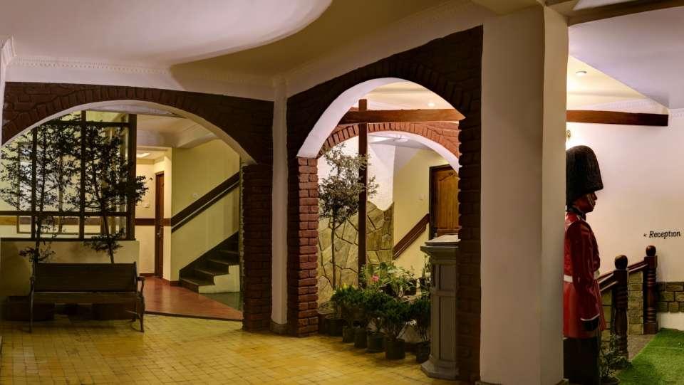 Lobby and Reception at Summit Hermon Hotel Spa Darjeeling 1